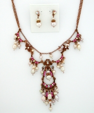 Vintage Reproduction Victorian Style Necklace Set